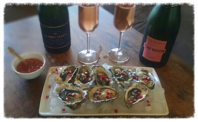Pink Oysters & Pink Champagne perfect Romantic Recipe
