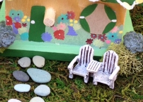 DIY Leprechaun Cottage, great craft for kids!