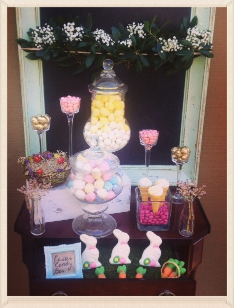 Let us help you set up a candy bar like this at your next event!
