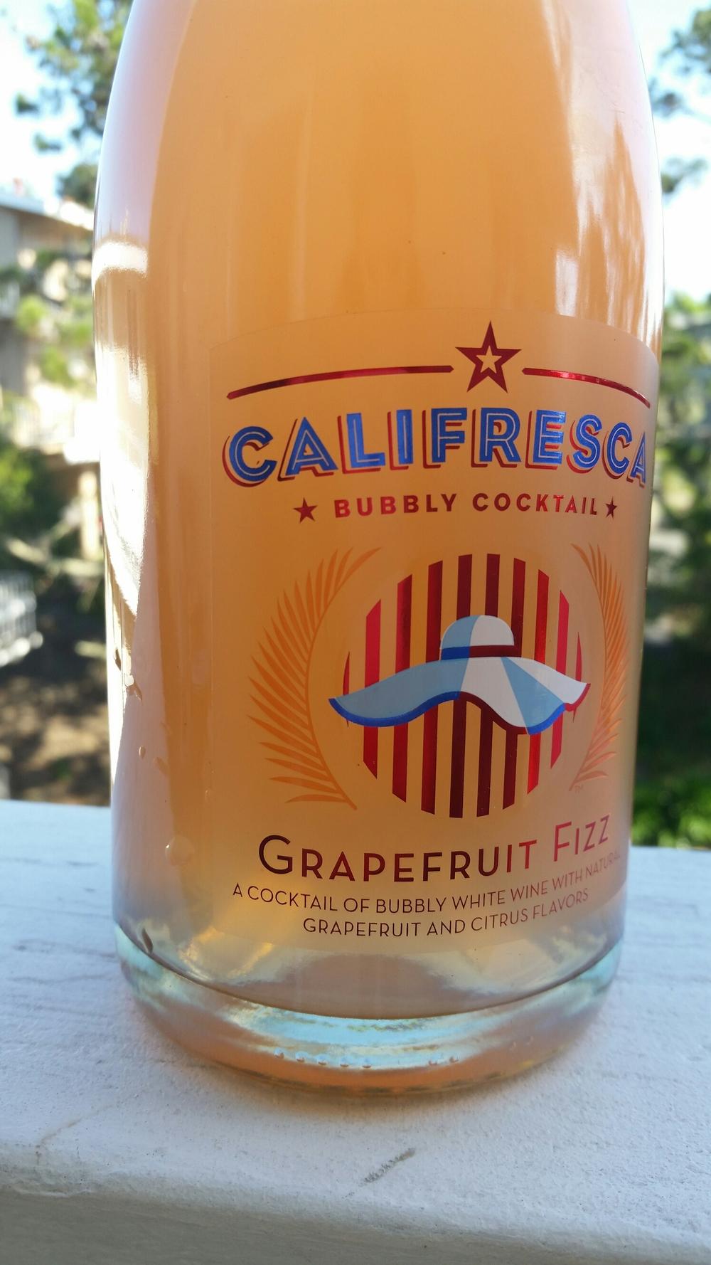 Wine review by LT - Grapefruit Fizz