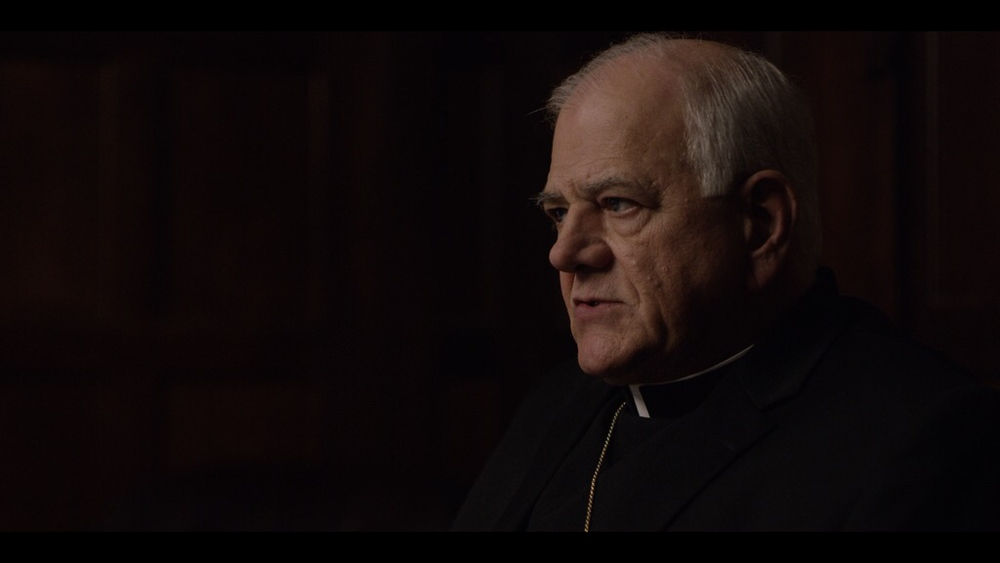 Marty Bufalini as Archbishop John Francis Dearden.