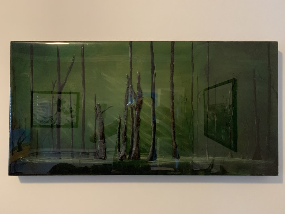 Green Forest (with epoxy)