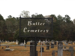 Butter Cemetery, Forest Hill, Louisiana picture credit: Cherilyn Melder