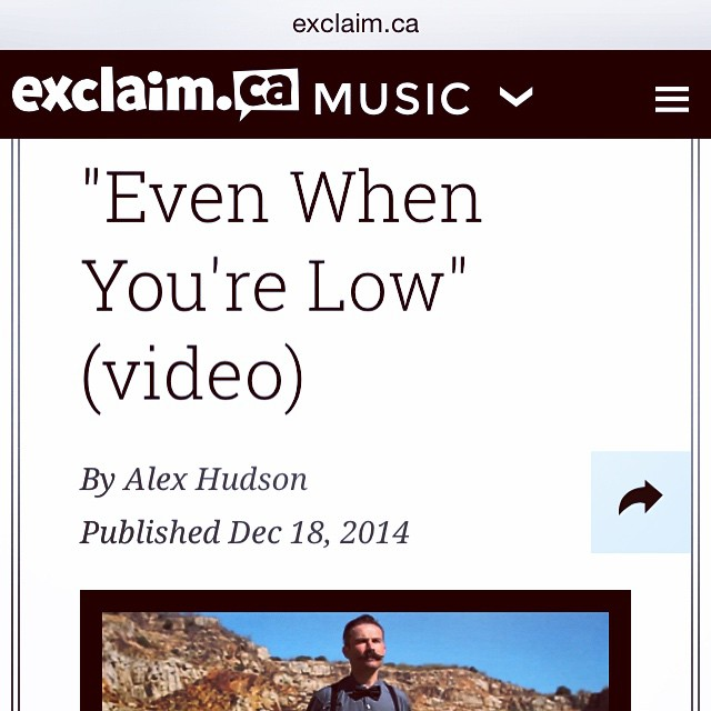 Check out our new video. Exclusive from @exclaimdotca http://exclaim.ca/Music/article/corner-even_when_youre_low_video?&utm_source=TwitterEDC&utm_medium=referral&utm_campaign=EDCTwitter