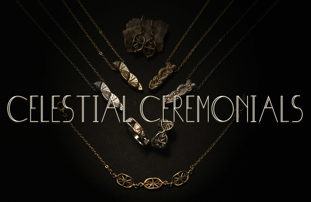 Celestial Ceremonials: talismans and amulets for rituals of a faraway world.