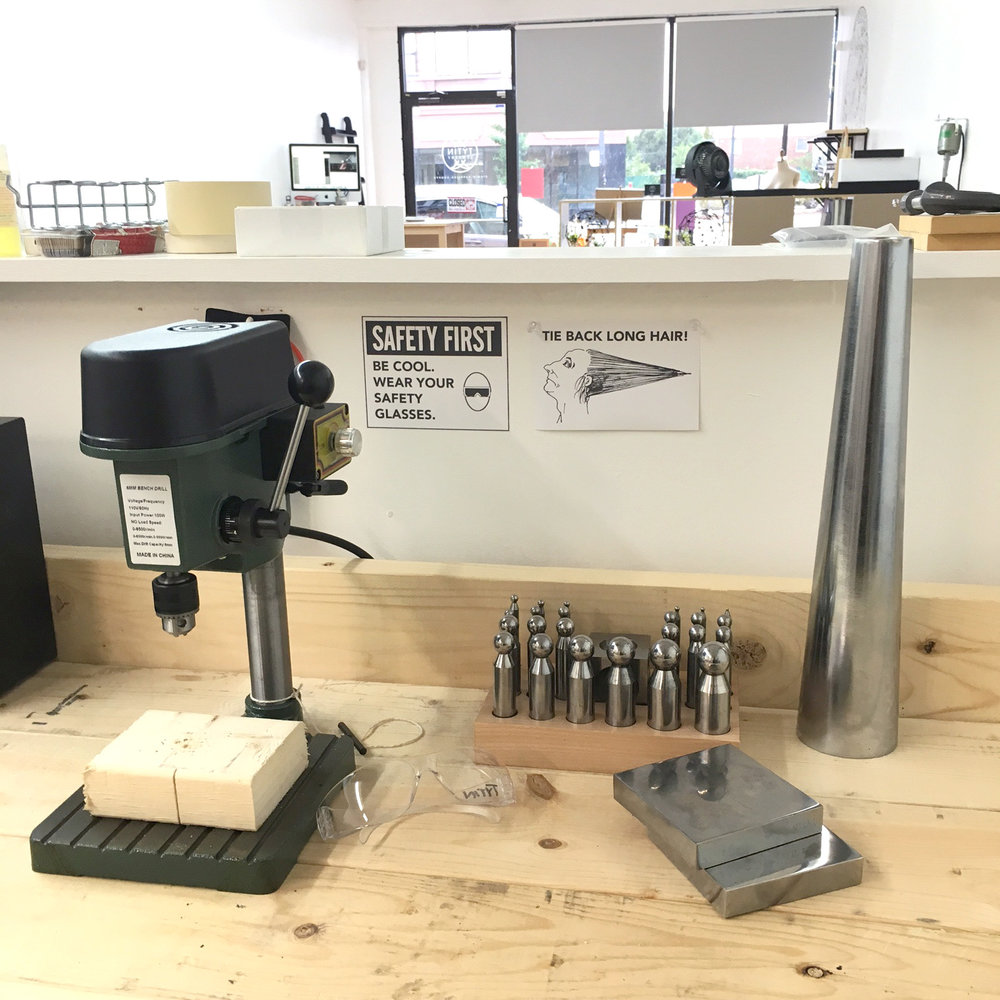 Tytin Jewelry drill press