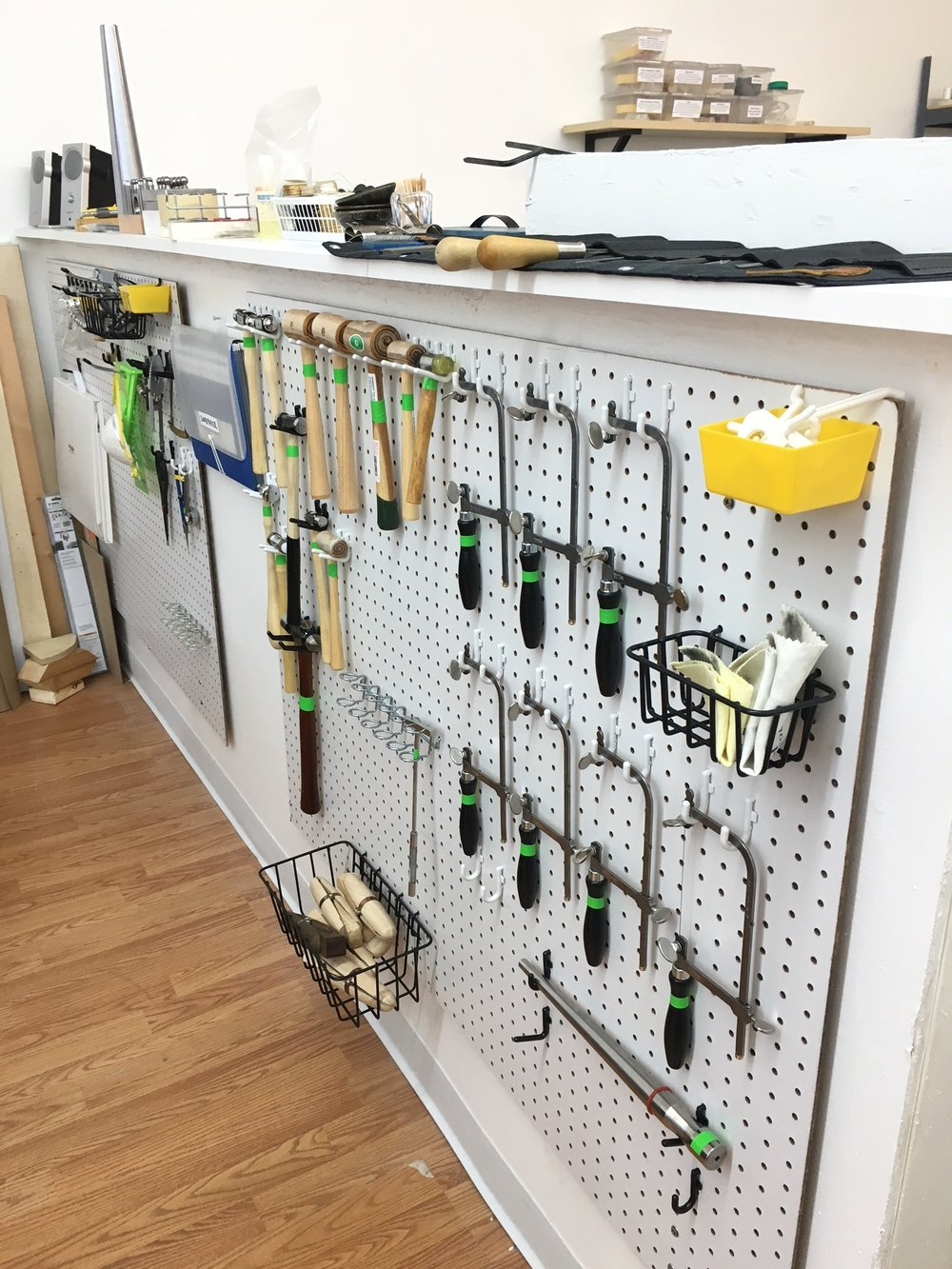 Tytin Jewelry tool peg board