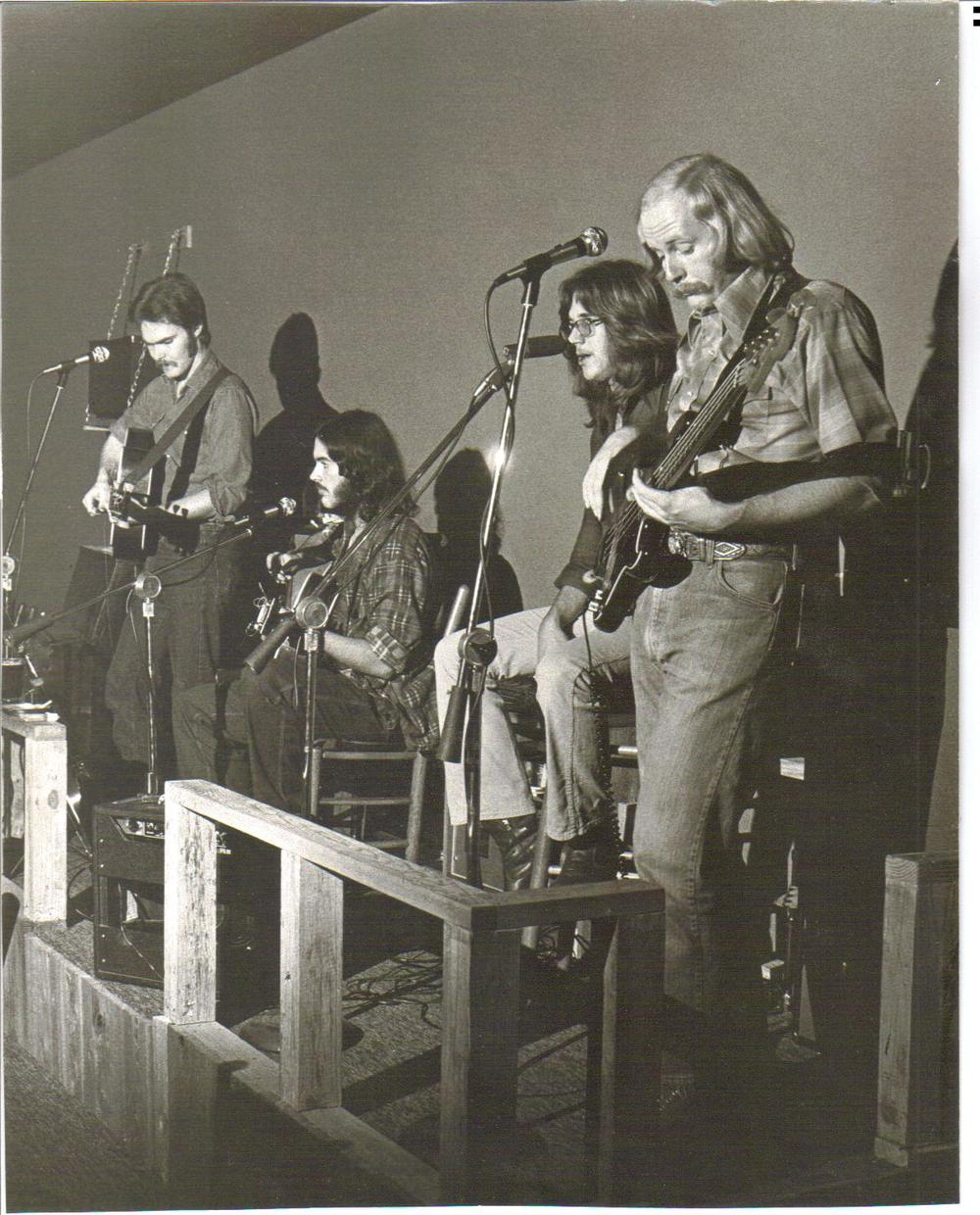 The Full Circle Band @ Mississippi Whiskers, Fall 1974