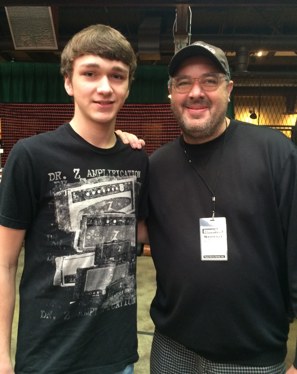 Noah and Vince Gill