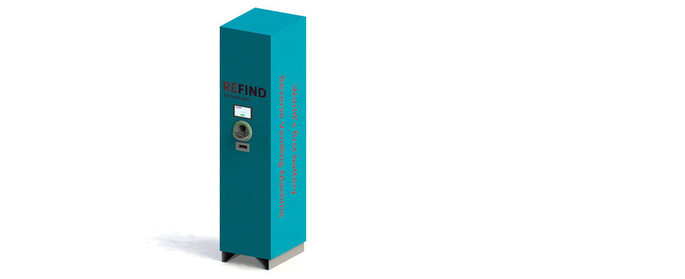 Reverse Vending Machine Batteries