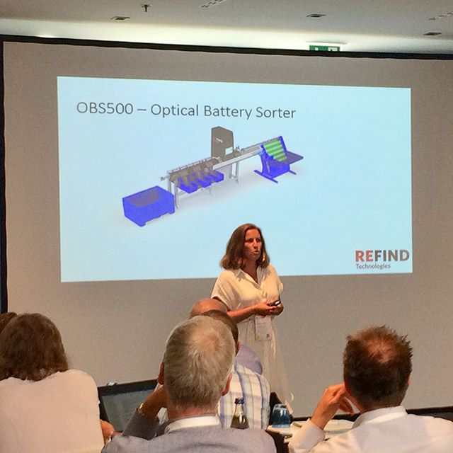Happy to have participated in the VDI Battery Recycling Conference in Munich! #artificialintelligence #batteryrecycling #vdi #refind #batterysorting