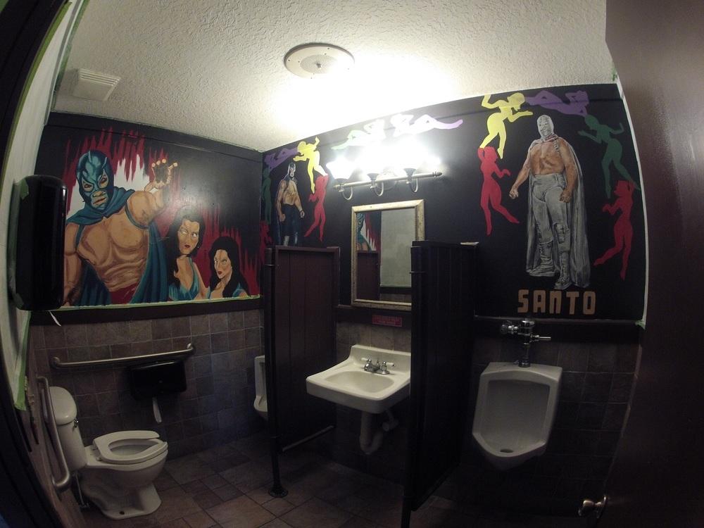 Restaurant TacoLu, Men's Restroom (Barside) in Jacksonville Beach, FL