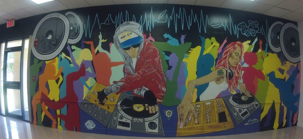 """TWO TURNTABLES AND A WALL OF FUN"" NAS JAX"