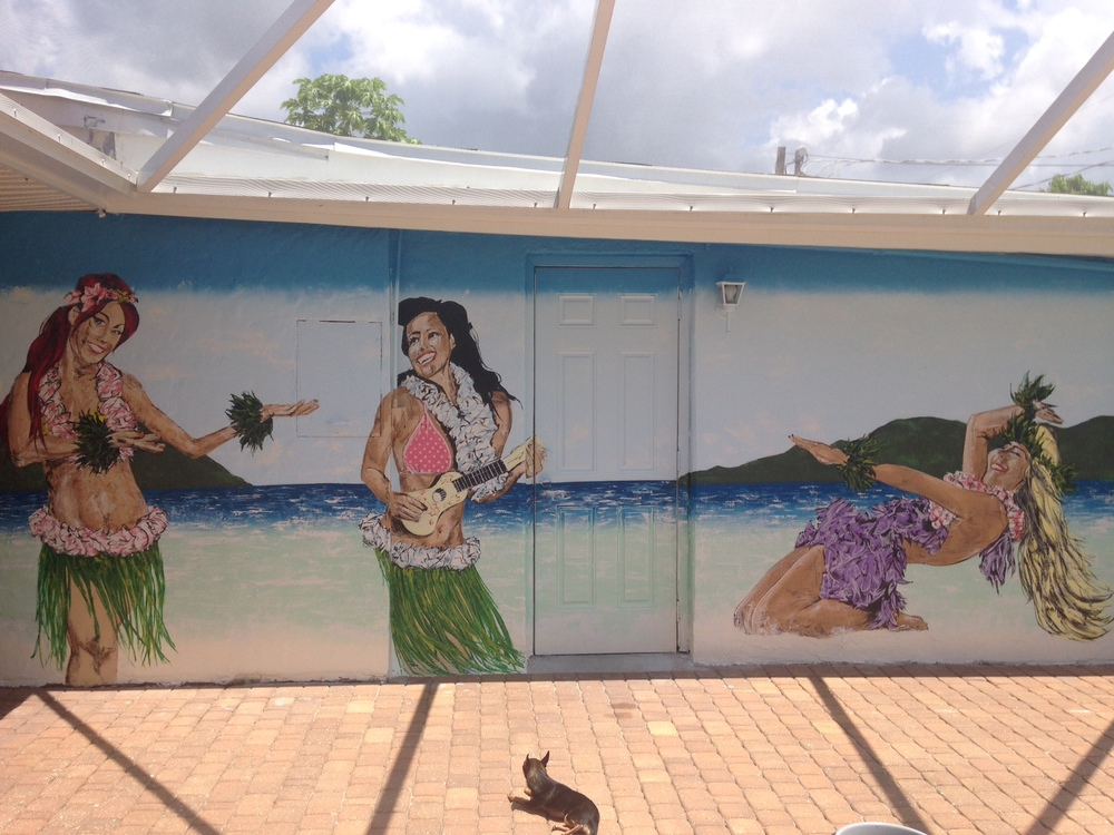 Hula ladies in Naples, FL