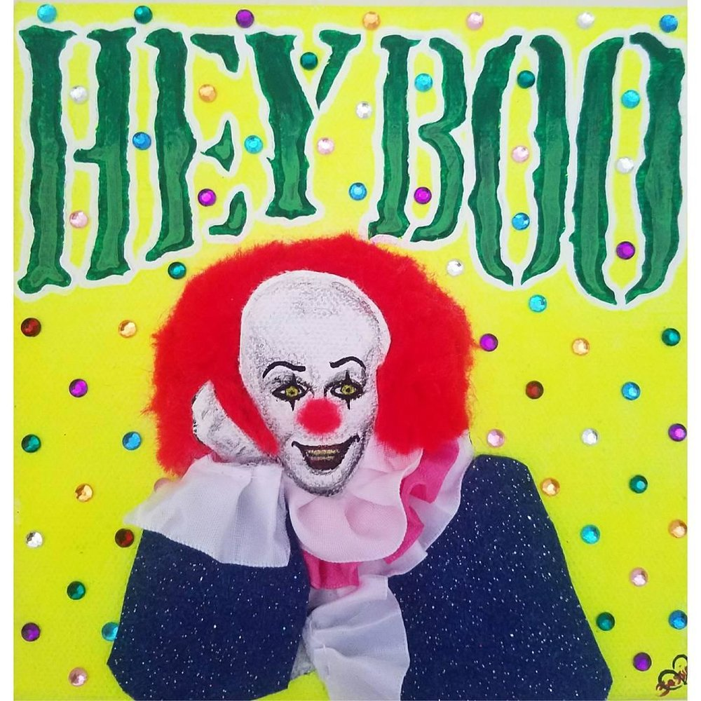 """HEY BOO"" ORIGINAL PAINTING"
