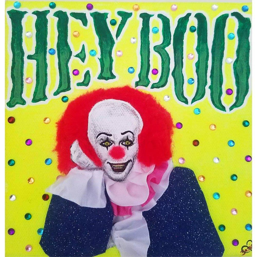 """HEY BOO"" ORIGINAL PAINTING"