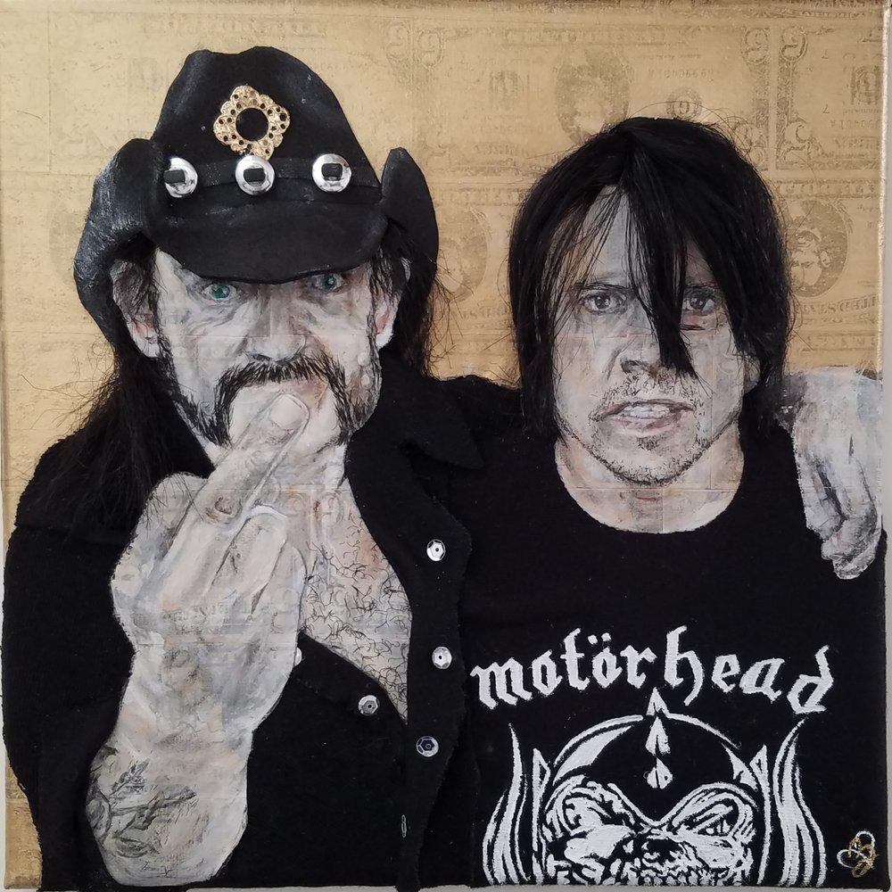 Lemmy + Dave
