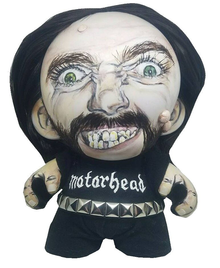 """BORN TO LOSE, LIVE TO WIN"" LEMMY KILMISTER Munny Doll"