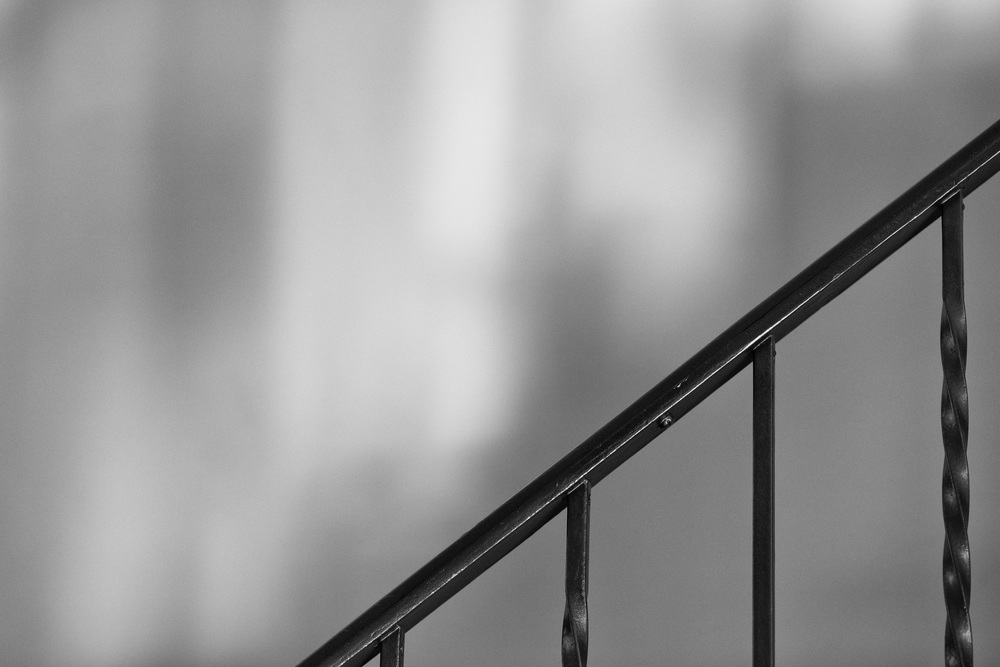 Stairs: Late afternoon, West Hollywood. (c) Jared Fortunato | Photography