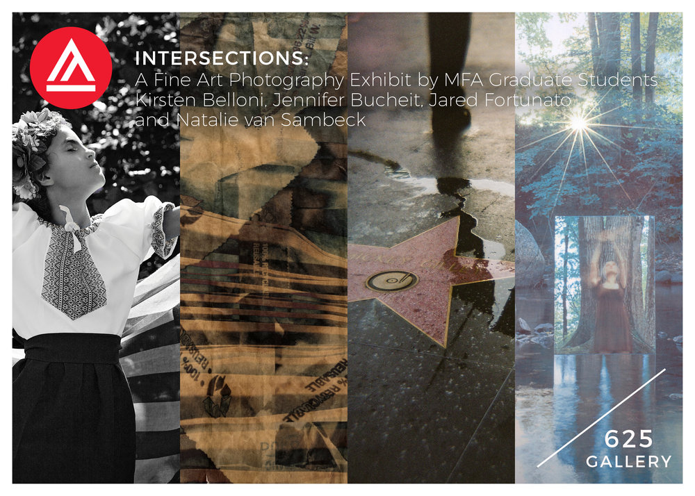 Intersections:  A Graduate Thesis Group Show  Gallery 625,  625 Sutter Street, San Francisco, CA  Opening Reception:  May 8th, 2018, 5:30-7:30  Show Run:  May 2, 2018 - June 3, 2018