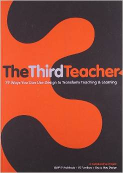 Created by an international team of architects and designers concerned about our failing education system,  The Third Teacher  explores the critical link between the school environment and how children learn, and offers 79 practical design ideas, both great and small, to guide reader's efforts to improve our schools. Written for anyone who has school-age children in their life, from educators and education decision-makers to parents and community activists, this book is intended to ignite a blaze of discussion and initiative about environment as an essential element of learning. Including a wealth of interviews, facts, statistics, and stories from experts in a wide range of fields, this book is a how-to guide to be used to connect with the many organizations, individuals, and ideas dedicated to innovating and improving teaching and learning. Contributors include children's singer and advocate Raffi, author and creativity consultant Sir Ken Robinson, scientist and environmentalist David Suzuki, inventor James Dyson, and other experts who are working to create fresh solutions to problems and create a new blueprint for the future of education.