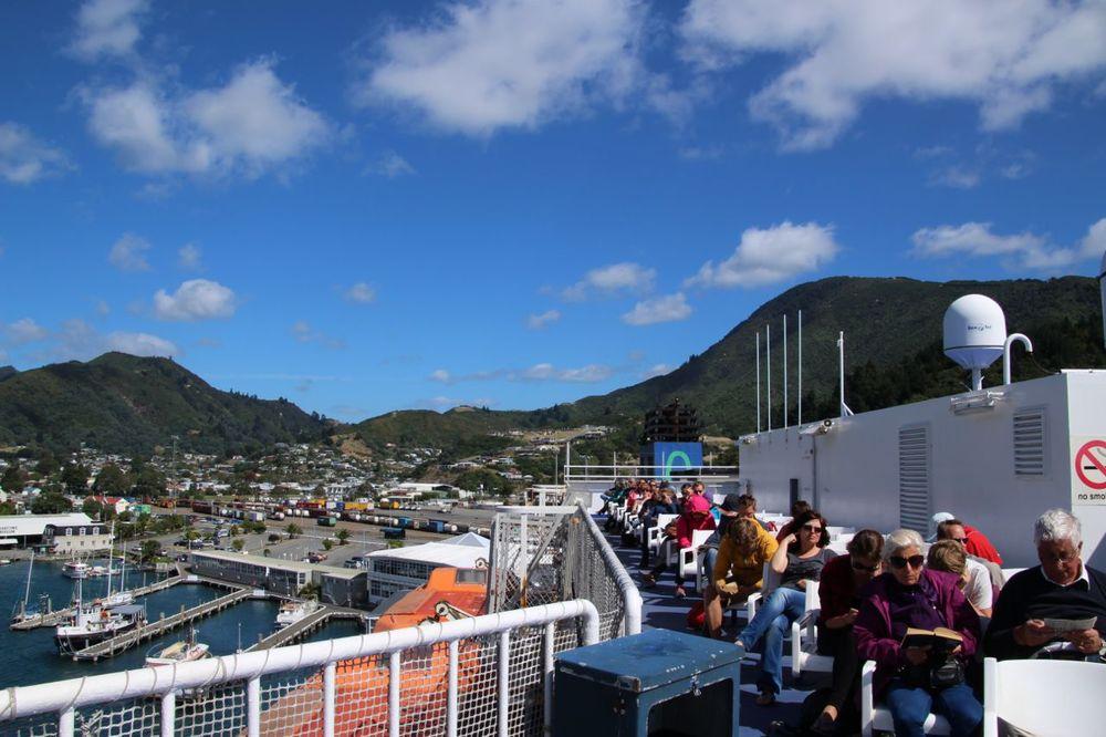 The observation deck.