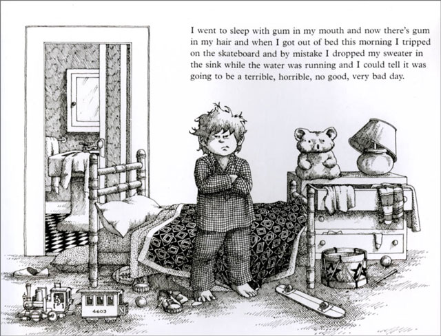 "This is the first page of the book. I have it memorized and quote from it with more frequency than perhaps an adult should quote a children's book. Until you realize that adults are just children in larger bodies with more memories. Today, this book would probably be called ""First World Problems."""