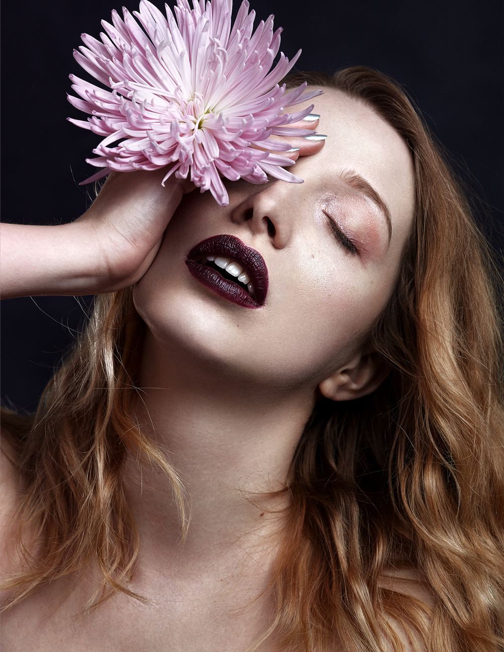 Emilie Tournevache Portrait Fashion Photographer Montreal - Dusky Flower
