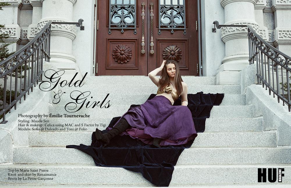 Emilie Tournevache Fashion beauty Portrait Photographer Montreal