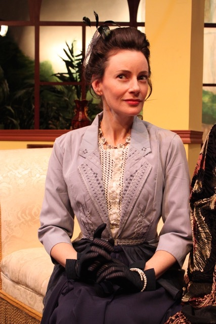 Casey McKinnon as Lady Stutfield. Photo courtesy of director Armina LaManna .