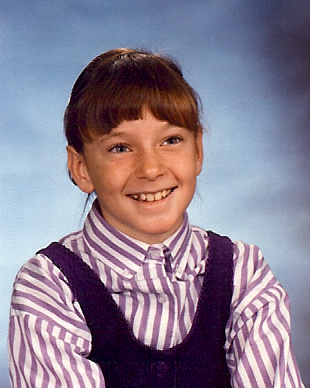 Young, adorably embarrassing Casey McKinnon.