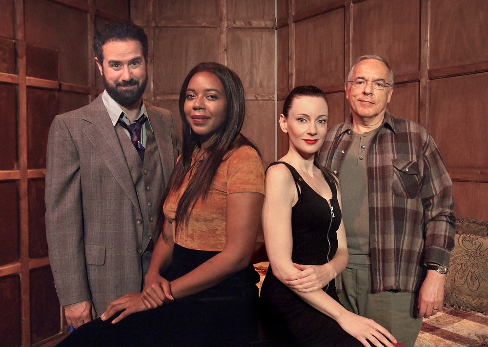 The cast of Donald Margulies' Sight Unseen
