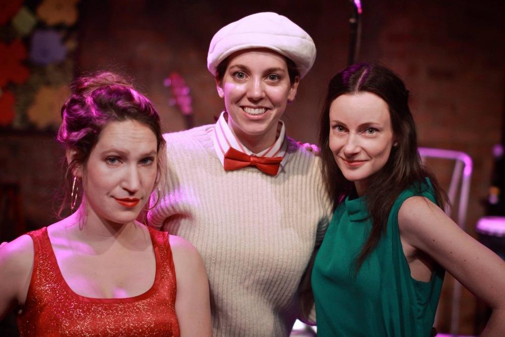 The three Rosalinds. (Photo courtesy of Nathanael Taylor)