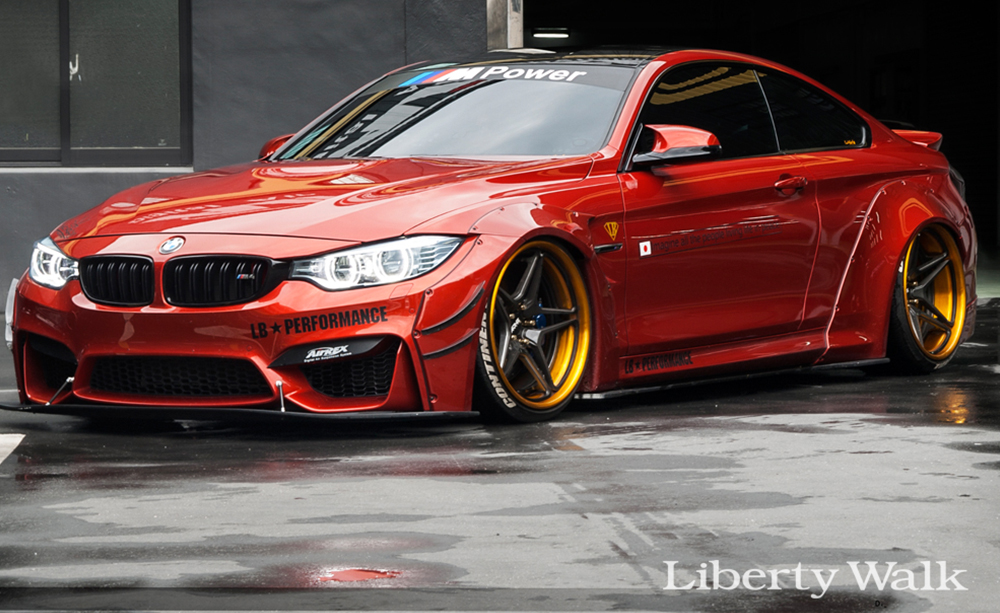 lb works m4 complete body kit vogue industries