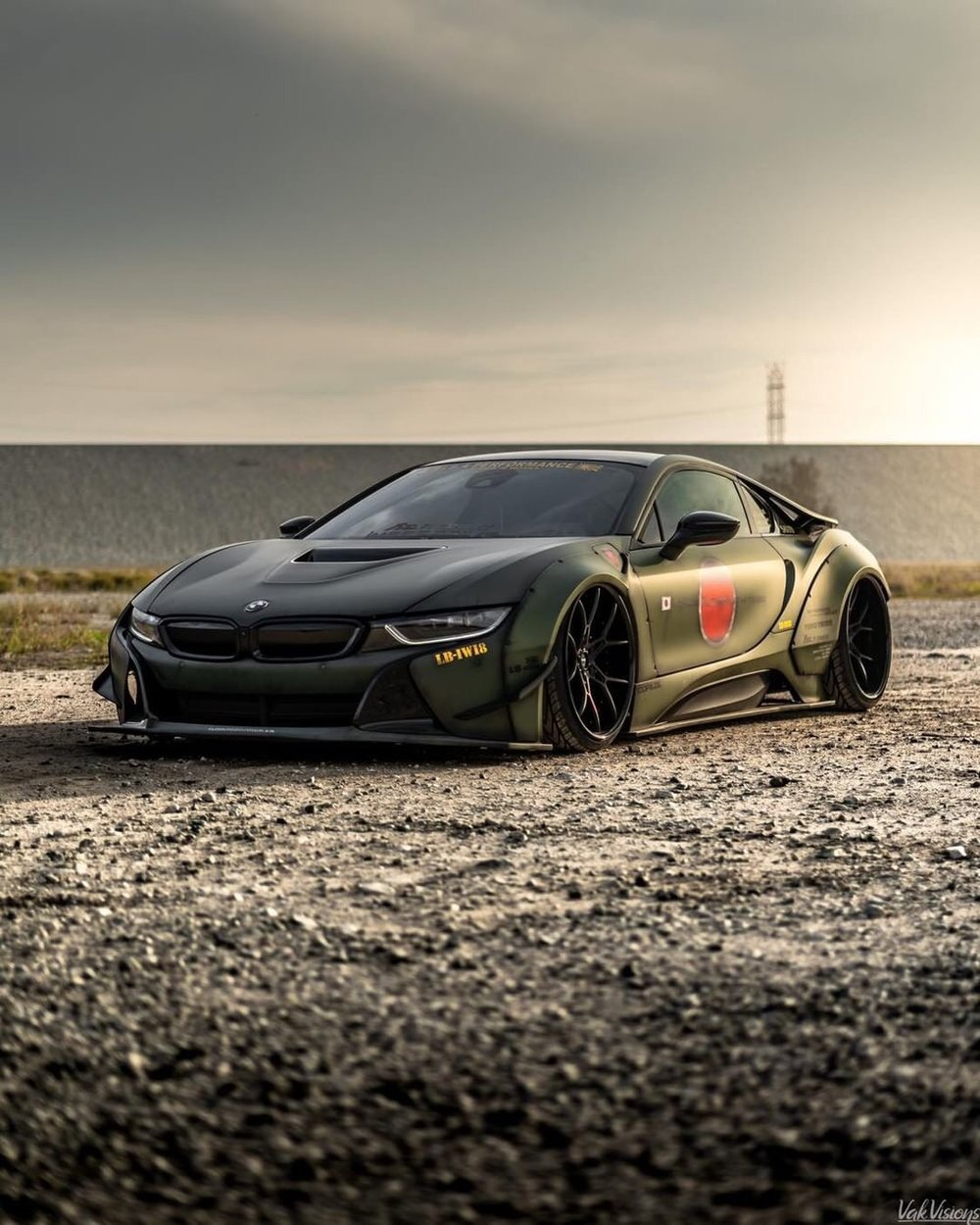 New Libertywalk Bmw I8 Vogue Industries