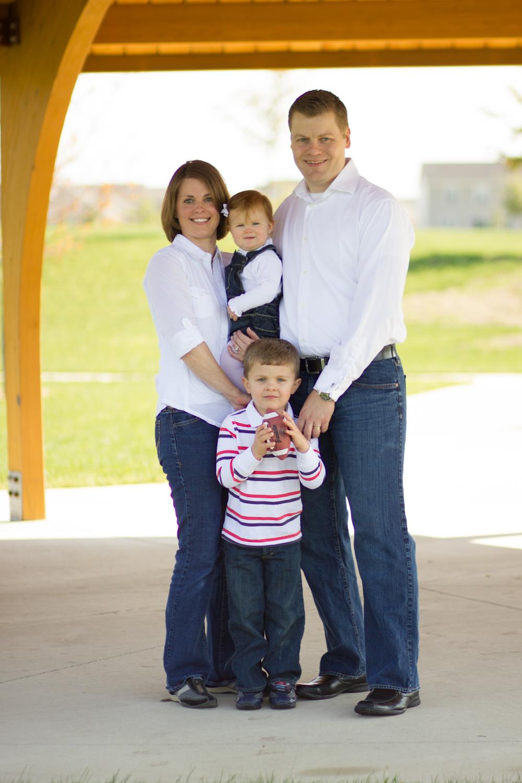 Family Session || Champaign-Urbana Portrait Photographer