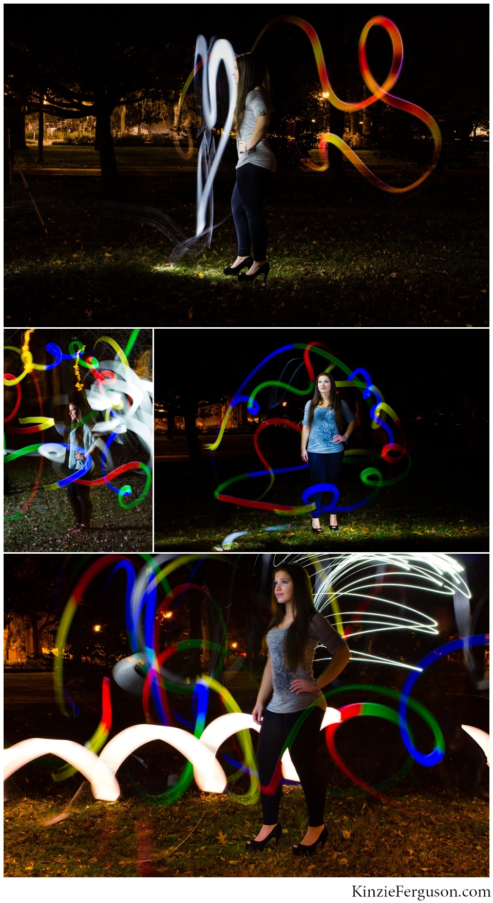Savannah, GA night flash photography women's portraits-2