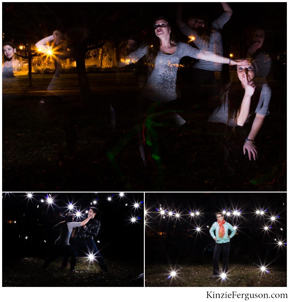 Savannah, GA night flash photography women's portraits-3
