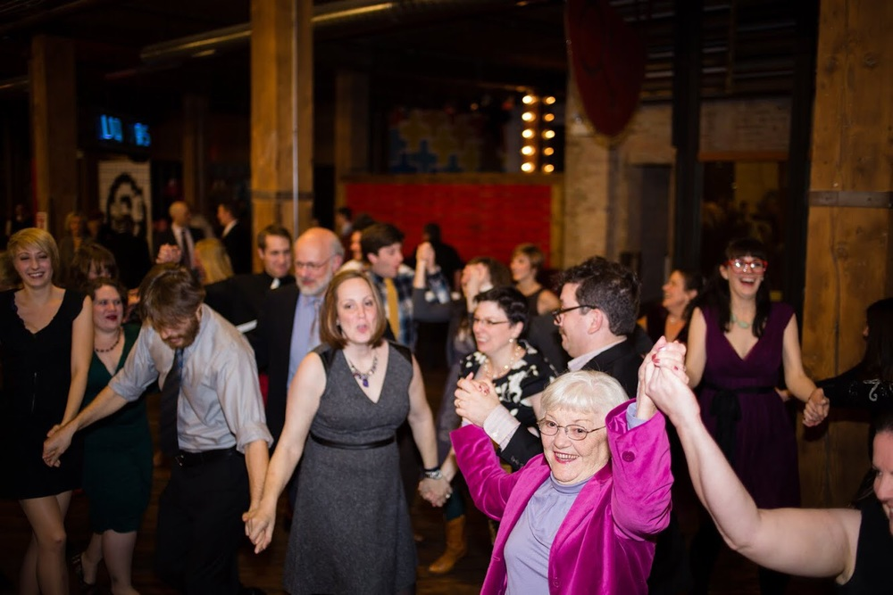 My grandma, the best wedding guest ever, busting a move at our dear friends Adam and Zev's wedding. She is the best.