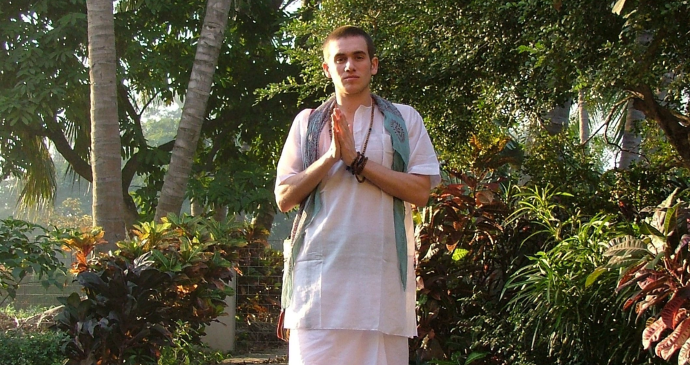 First pilgrimage to India at 20 years old when Charlie lived with Vedanta monks for 6 weeks.
