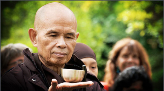 Thich Nhat Hanh is a spiritual leader, poet and peace activist,