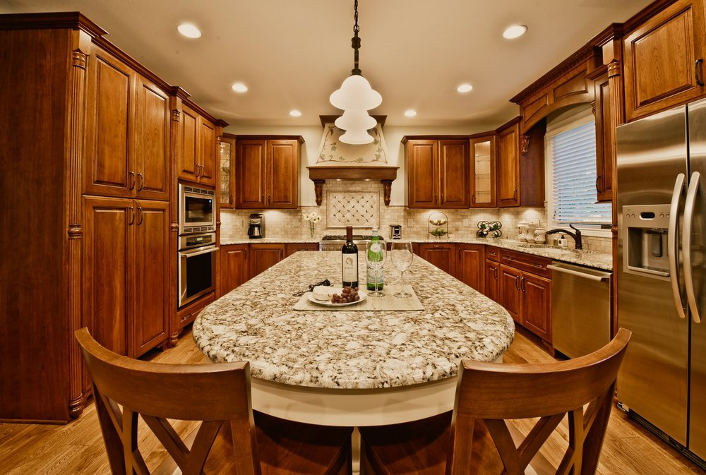 Tuscan Themed Kitchen And First Floor Remodel U2014 Indianapolis Remodeling  Contractor | Kitchen Remodeling, Room Additions, Custom Home Building, ...