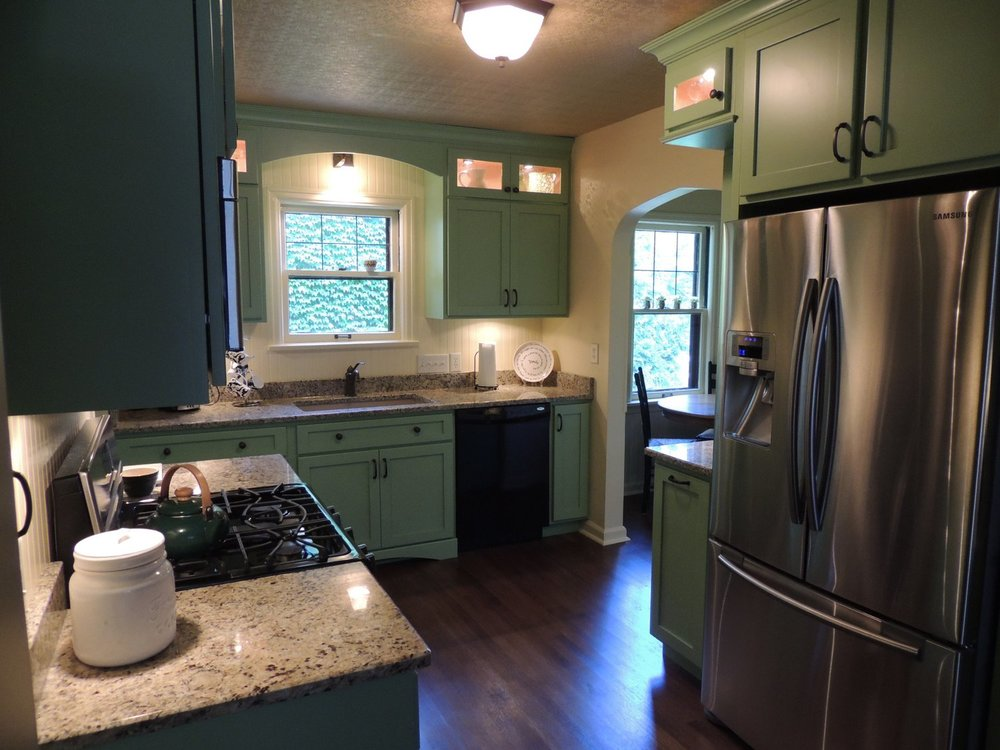 Indianapolis Irvington Kitchen Remodel