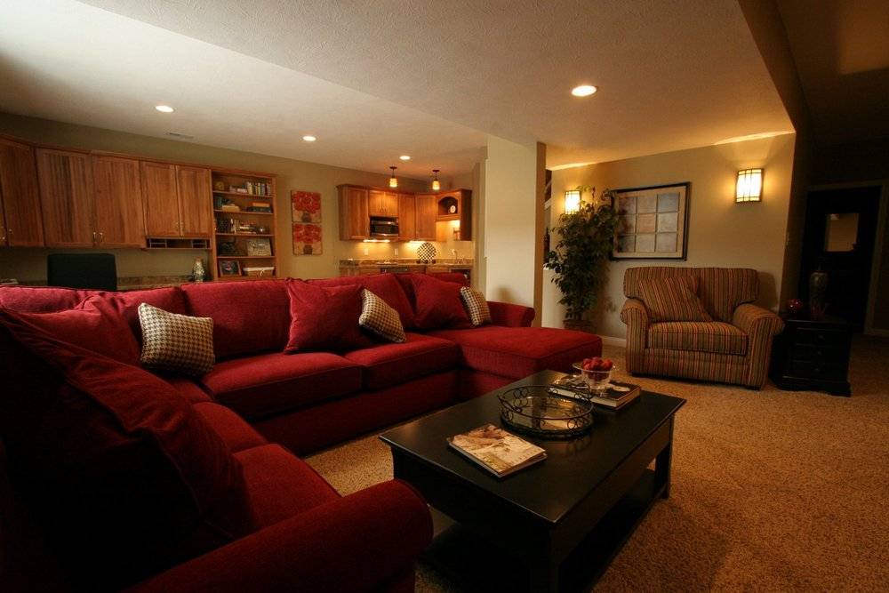 Fishers Basement Remodel Indianapolis Remodeling Contractor Custom Basement Remodeling Indianapolis