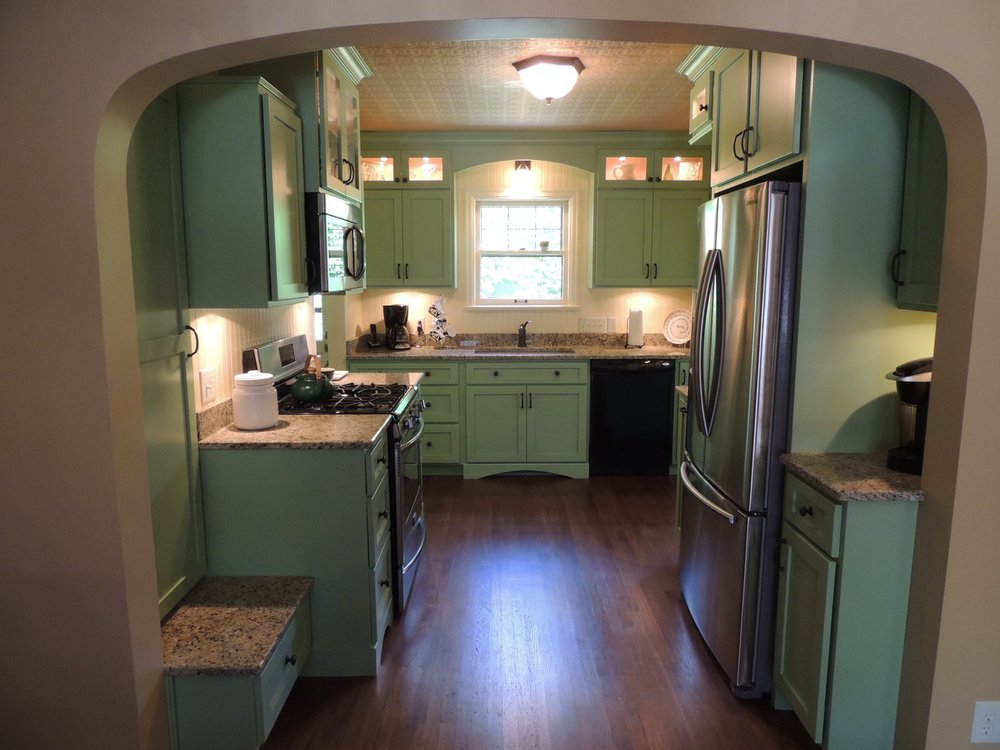 Indianapolis Irvington Kitchen Remodel