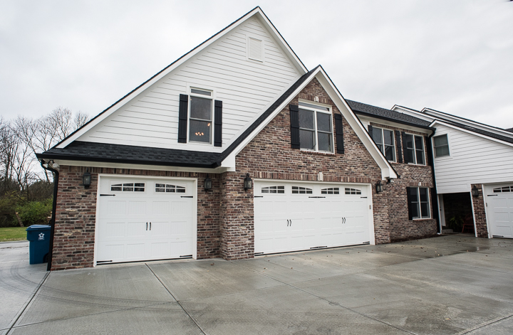 at this indianapolis home we completed a first floor and kitchen remodel and constructed a large square footage addition the garage addition provides new - Garage Addition