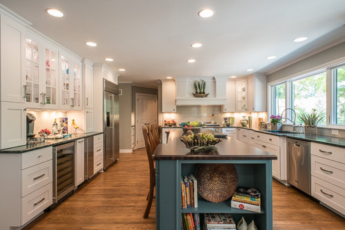 amazing kitchen remodeling contractor. This project was particularly interesting as the clients documented  entire process of whole home remodel and garage addition with regular Facebook Kitchen Remodel Projects Indianapolis Remodeling Contractor