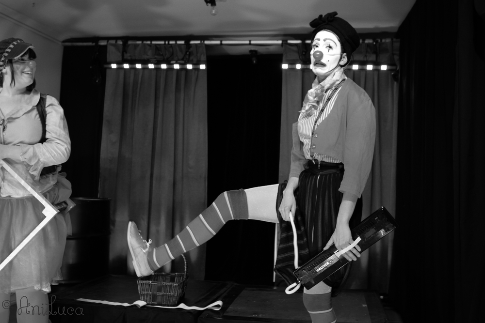 Clown, by Johanna Fluhrer