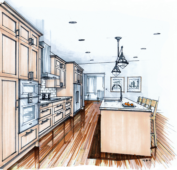 Kitchen renovations heilman renovations north for Kitchen design vancouver
