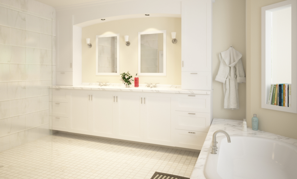West Vancouver Bathroom Renovation Design
